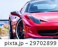 真っ赤なスポーツカー 29702899