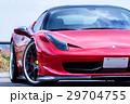 真っ赤なスポーツカー 29704755