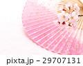 桜・扇子02 29707131