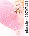 桜・扇子タテ01 29707133