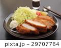 豚カツ 揚げ物 野菜 29707764