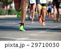 Marathon runners race 29710030