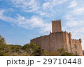 城 青空 雲の写真 29710448