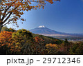 二十曲峠 秋 富士山の写真 29712346