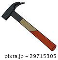 かなづち トンカチ ハンマーのイラスト 29715305