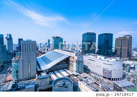 《大阪府》大阪駅・都市風景 29718417