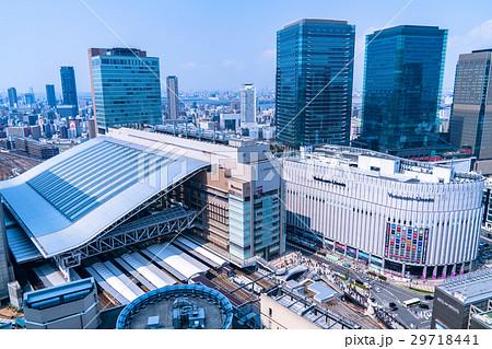 《大阪府》大阪駅・都市風景 29718441
