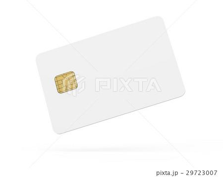 blank credit card templateのイラスト素材 29723007 pixta