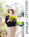 ガーデニング 花 パンジーの写真 29724340