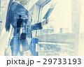 ビジネス 合成 ビジネスマンの写真 29733193
