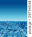東京の街並 俯瞰 夜景 29734548