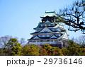 大阪城 西の丸庭園から望む天守閣 29736146