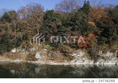紅葉の長瀞渓谷 29736266