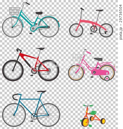 自行車 腳踏車 illustration 29736504
