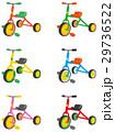 三輪車 カラーバリエーション 29736522
