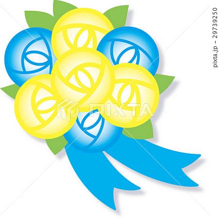 バラ花束 父の日 影付き 29739250
