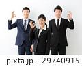 ビジネスマン ビジネスウーマン 同僚の写真 29740915