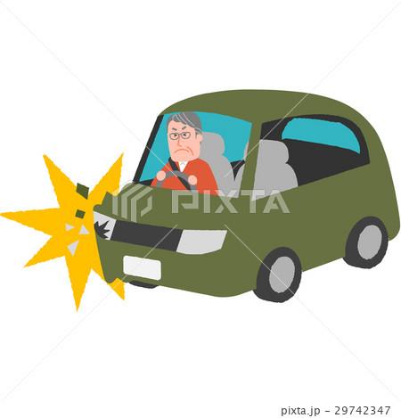 高齢ドライバーの事故 29742347