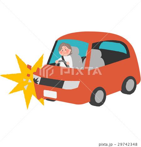高齢ドライバーの事故 29742348