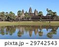 アンコールワット 世界遺産 カンボジアの写真 29742543