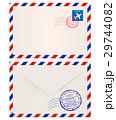 封筒 郵便 ベクタのイラスト 29744082