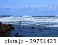 海 海岸 岩礁の写真 29751423