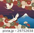 富士山 菊の花 菊のイラスト 29752638