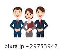 ビジネス ビジネスマン ビジネスチームのイラスト 29753942