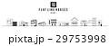Modern Minimal House Illistration, Flat line 29753998