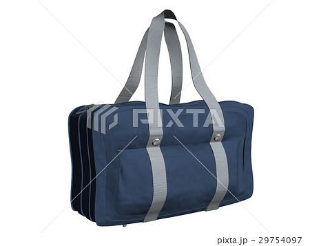 学生カバン肩がけボストンバッグのイラスト素材 29754097 Pixta