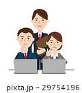 人物 ビジネス チームのイラスト 29754196
