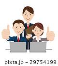ビジネスチーム デスクワーク 29754199