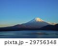 夕暮れの富士山 29756348