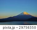 夕暮れの富士山 29756350