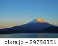夕暮れの富士山 29756351