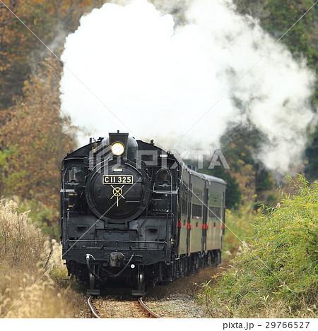 紅葉の真岡鉄道SL 29766527