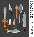 Knife weapon dangerous metallic vector 29767603
