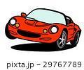 ベクター スポーツカー 車のイラスト 29767789