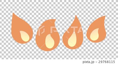 コンロの炎 29768115