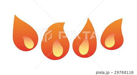 コンロの炎 29768116