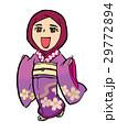 ムスリム女性の着物体験 29772894