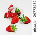 イチゴ ガラス コップ 29772989