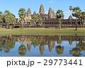 青空のアンコールワット 世界遺産 カンボジア 29773441