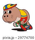 競輪選手キャラクター、アザラシキャラクター 29774700