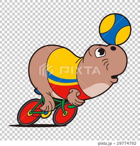 professional cyclist, seal, keirin 29774702