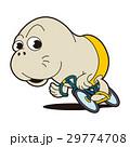 競輪選手キャラクター、アザラシキャラクター 29774708