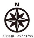 羅針盤 コンパス 方位のイラスト 29774795