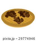 きくらげ 食材 ベクターのイラスト 29774946