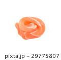 Slice salmon isolated on the white background 29775807