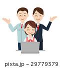 コールセンター ビジネスチーム ベクターのイラスト 29779379